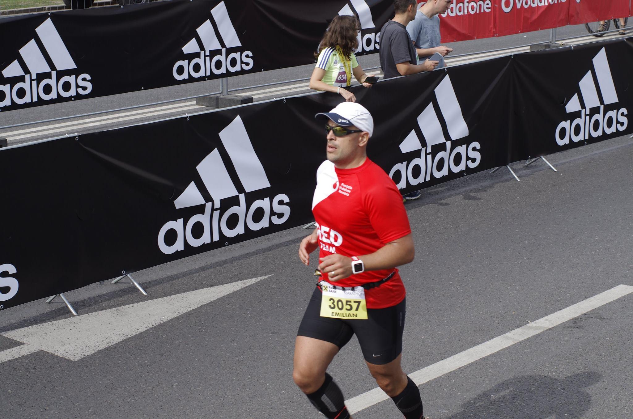 Pe ultima sută de metri, la finish. Foto: Bogdan Pop