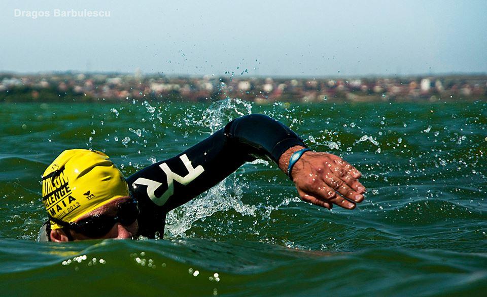 Florin Sestacovschi - inot - Triathlon Challenge Mamaia 2013