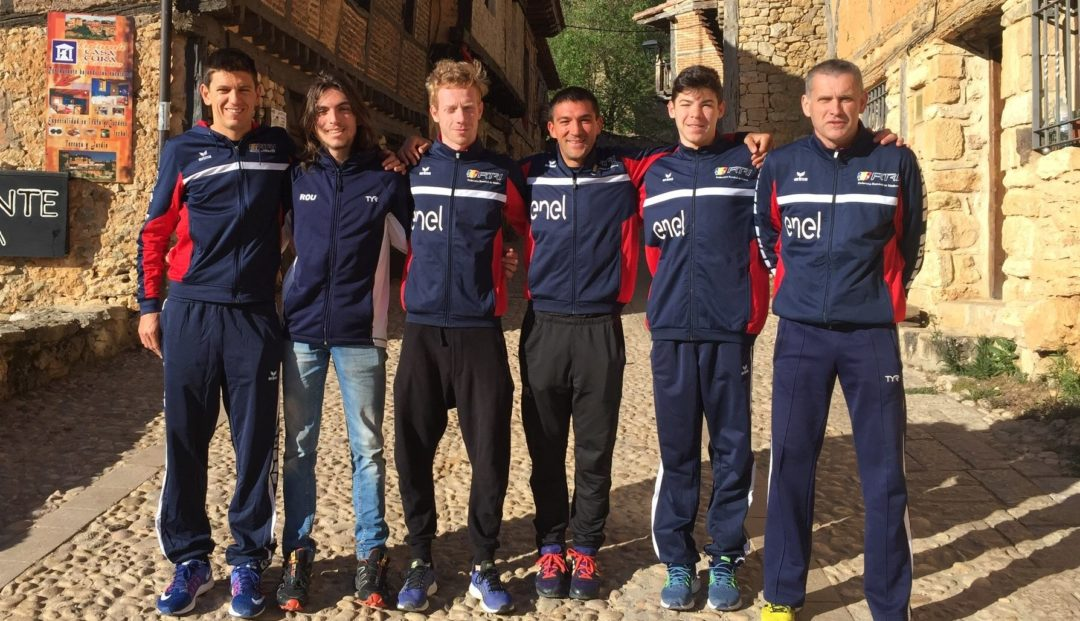 Echipa de triatlon Romania la Campionatul European de Duatlon 2017