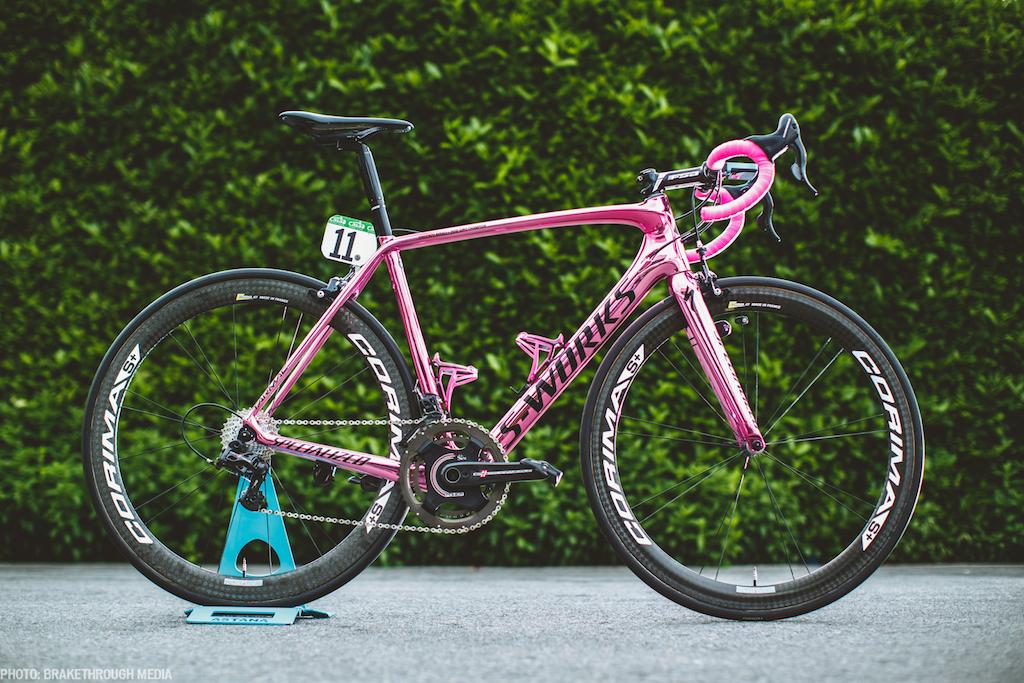 Bicicleta Vincenzo Nibali - Turul Italiei