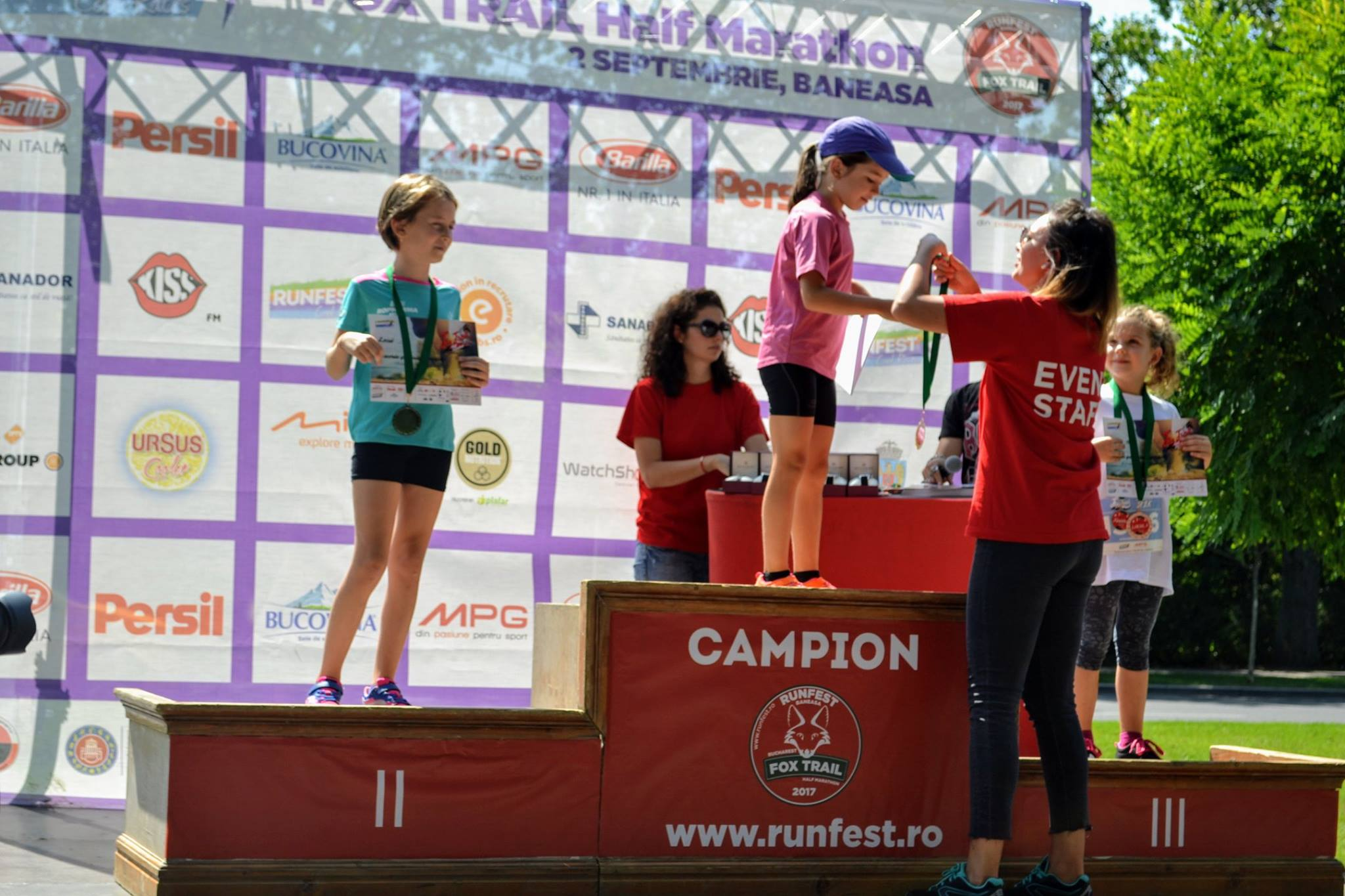 Natalia Nedelcu - locul 1 Fox Trail Half Marathon 2017