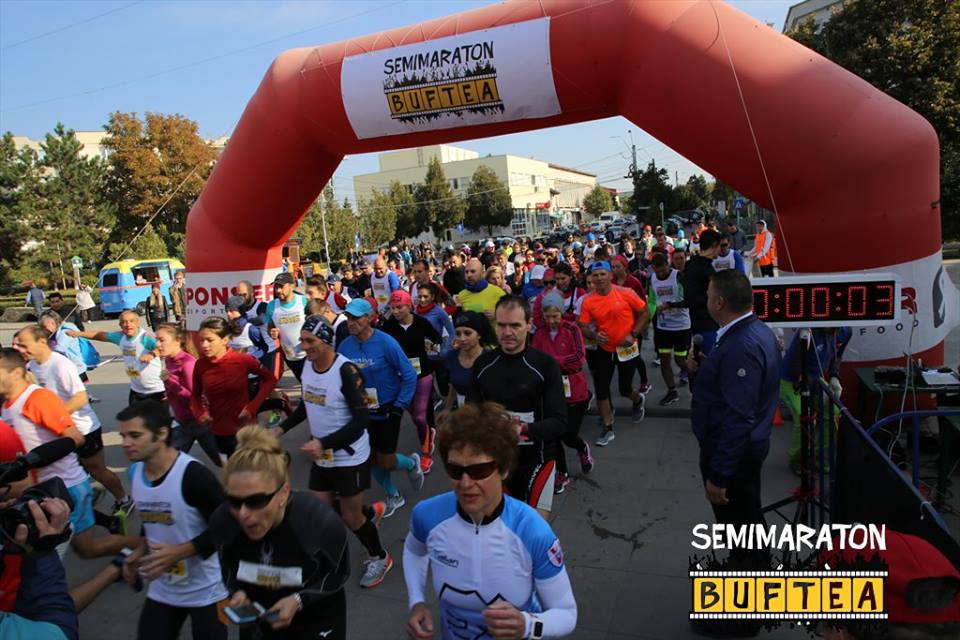 Start Semimaraton Buftea 2017