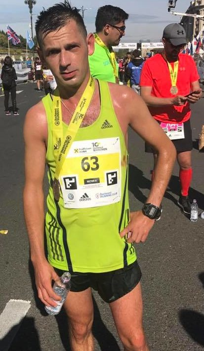Sorin Mineran - campion national maraton 2017
