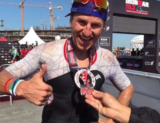 Mihai Vigariu - locul 3 Ironman 70.3 Bahrain 2017