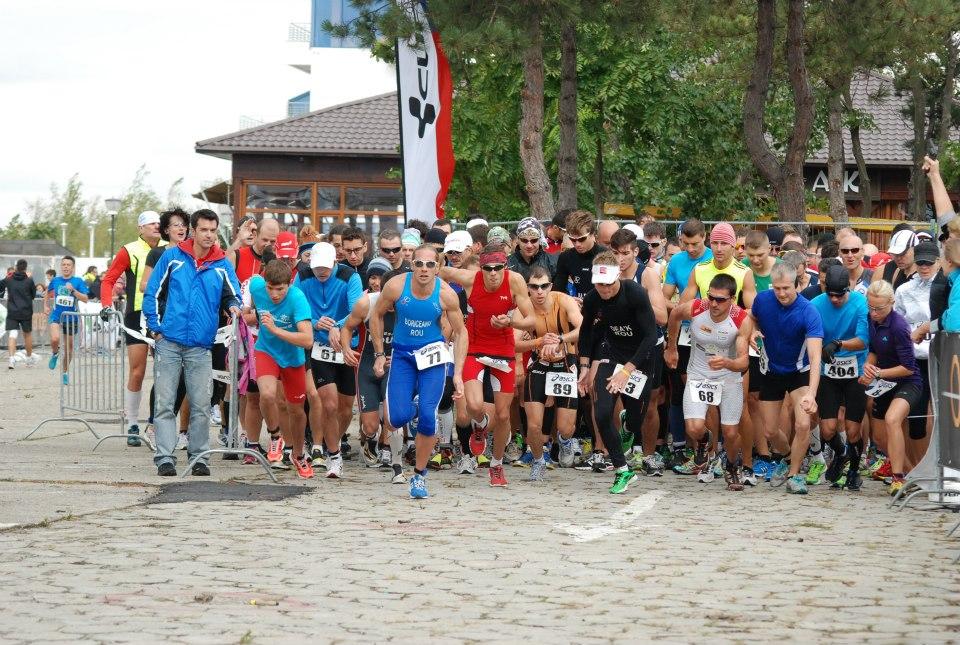 Start Triathlon Challenge Mamaia 2012