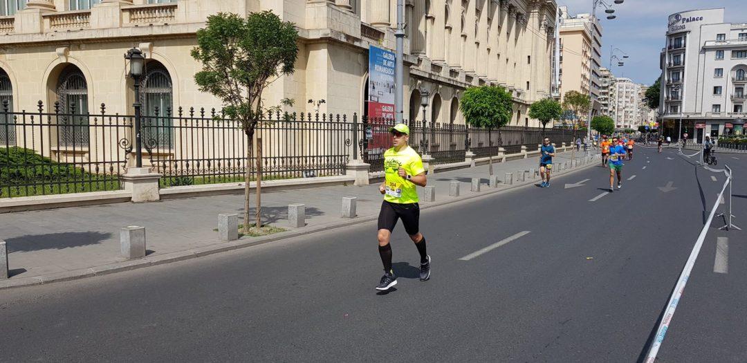 Bucharest Half Marathon 2018 - Emilian Nedelcu pe traseu