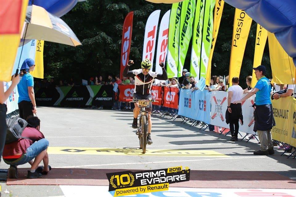 Prima Evadare 2018 - Emilian Nedelcu la linia de finish
