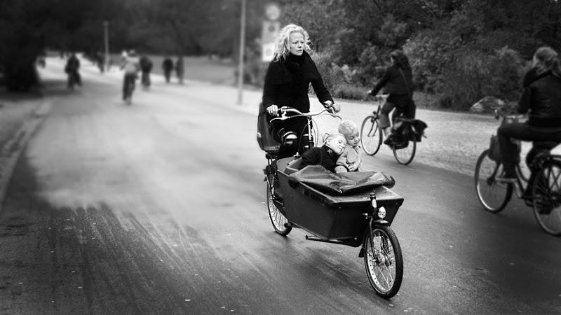 Bicicleta transport copii