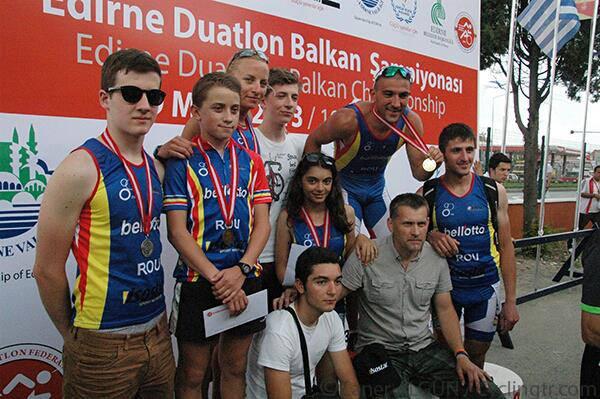 Lotul Romaniei de Triatlon - campionatul balcanic Turcia