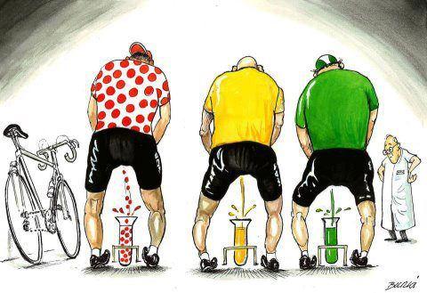 Turul Frantei 2012 - Test antidoping