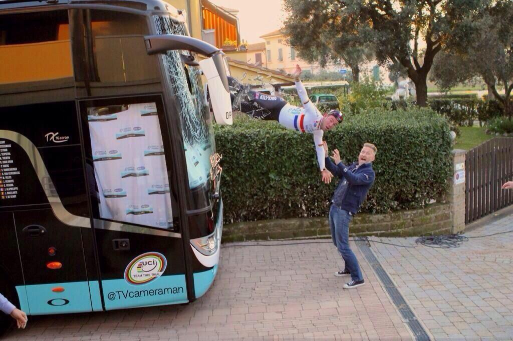 Mark Cavendish - cover photo joke