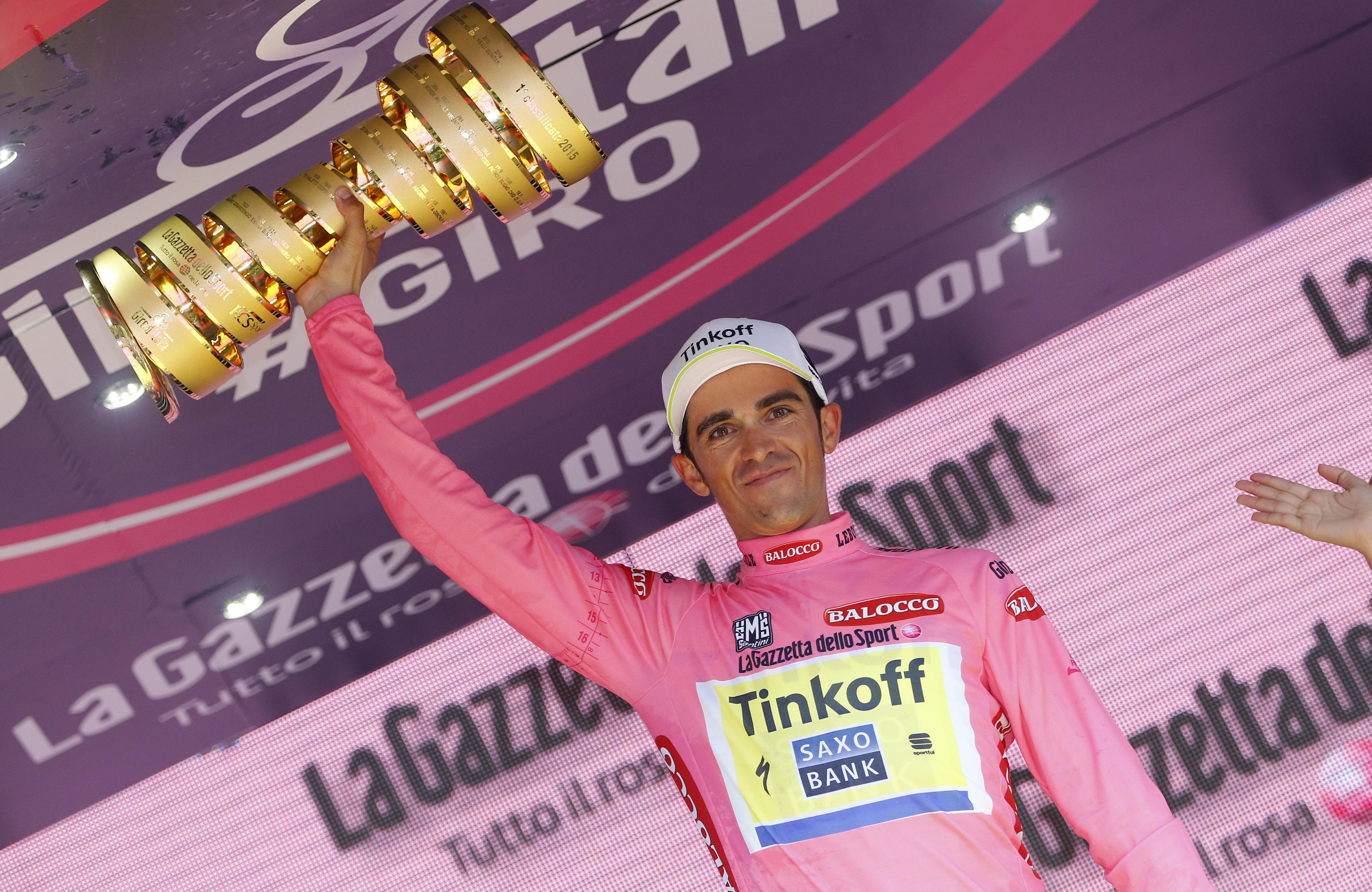 Giro d' Italia 2015 - 98a Edizione - 21a tappa Torino - Milano 178 km - 31/05/2015 - Alberto Contador (Tinkoff - Saxo) - foto Luca Bettini/BettiniPhoto©2015