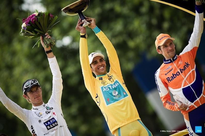 Alberto Contador - Turul Frantei 2010