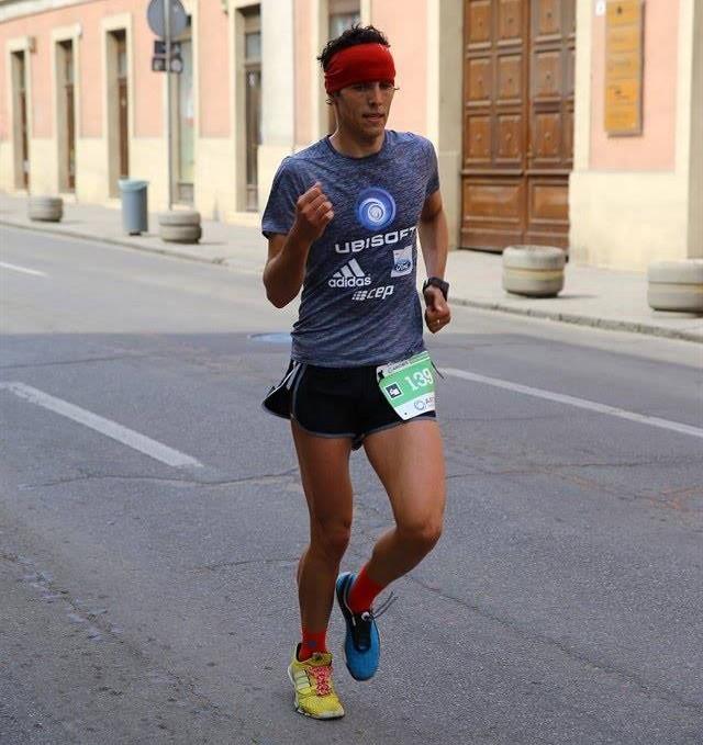 Alex Diaconu - maratonul Cluj