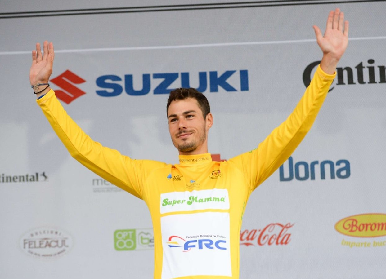 Andrei Nechita - tricou galben Turul Sibiului