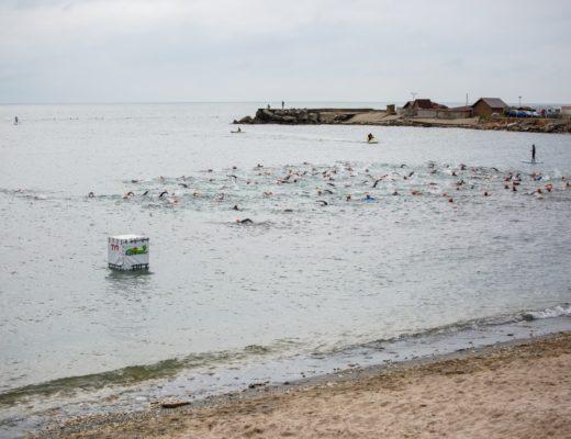 Fără Asfalt 2016 - start proba de înot