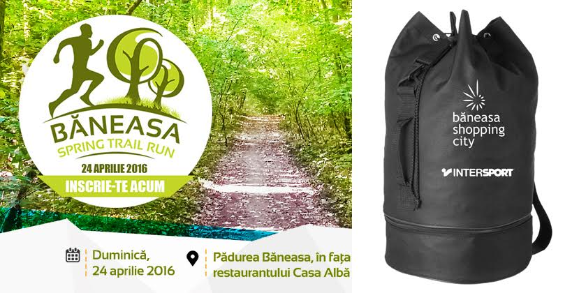 Baneasa Trail Run - kit participare sac