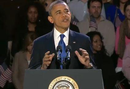 Barack Obama discurs biciclisti