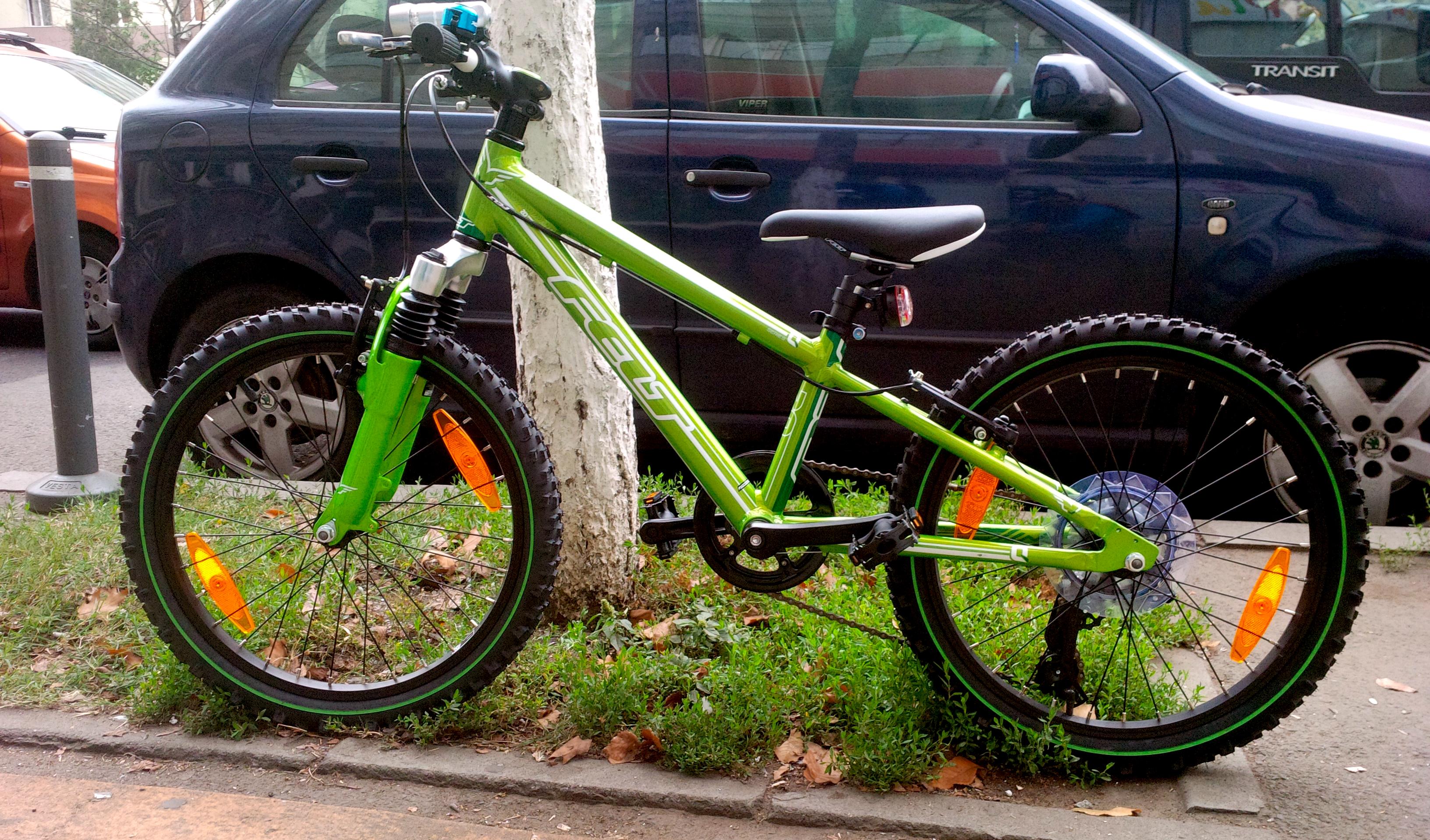 Felt Q20r 2012 - bicicleta lui Vlăduț
