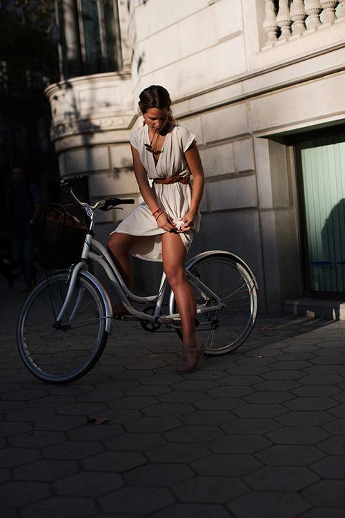 Biciclista oras sexy