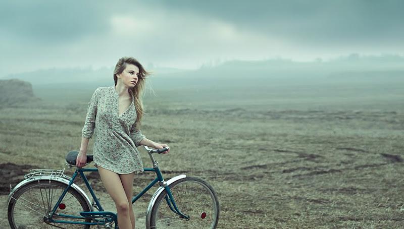 Bicicliste sexy - natura salbatica