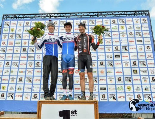 Podium general Carpathian MTB Epic 2017