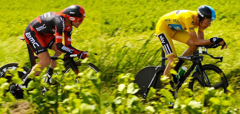 Cadel Evans vs Wiggins