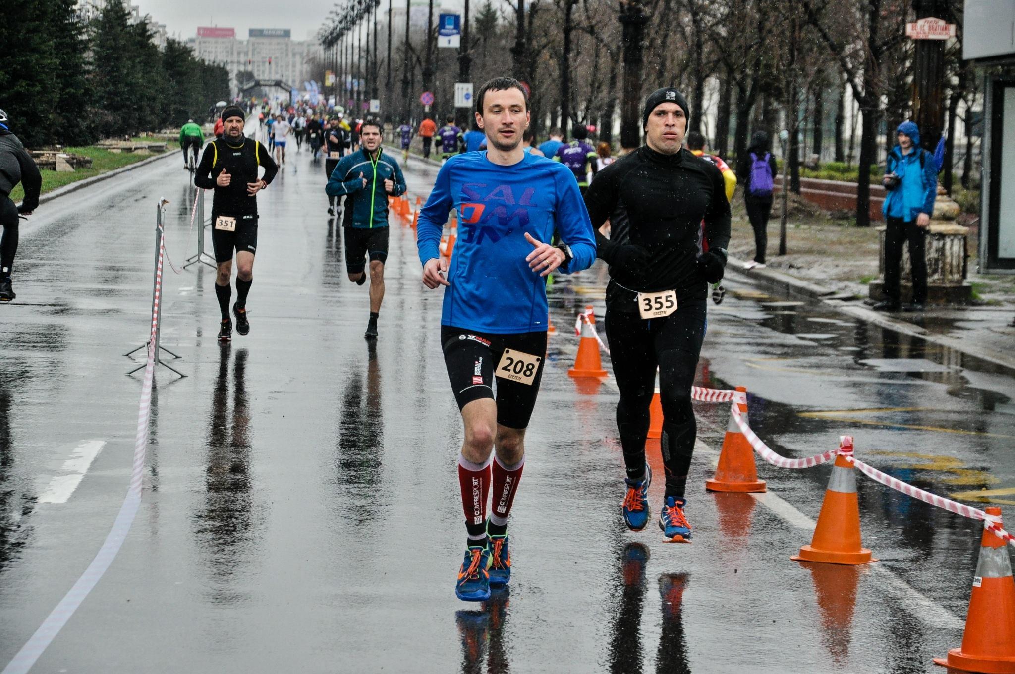 Campionatul National de Duatlon - alergare tura 1 - Emilian Nedelcu