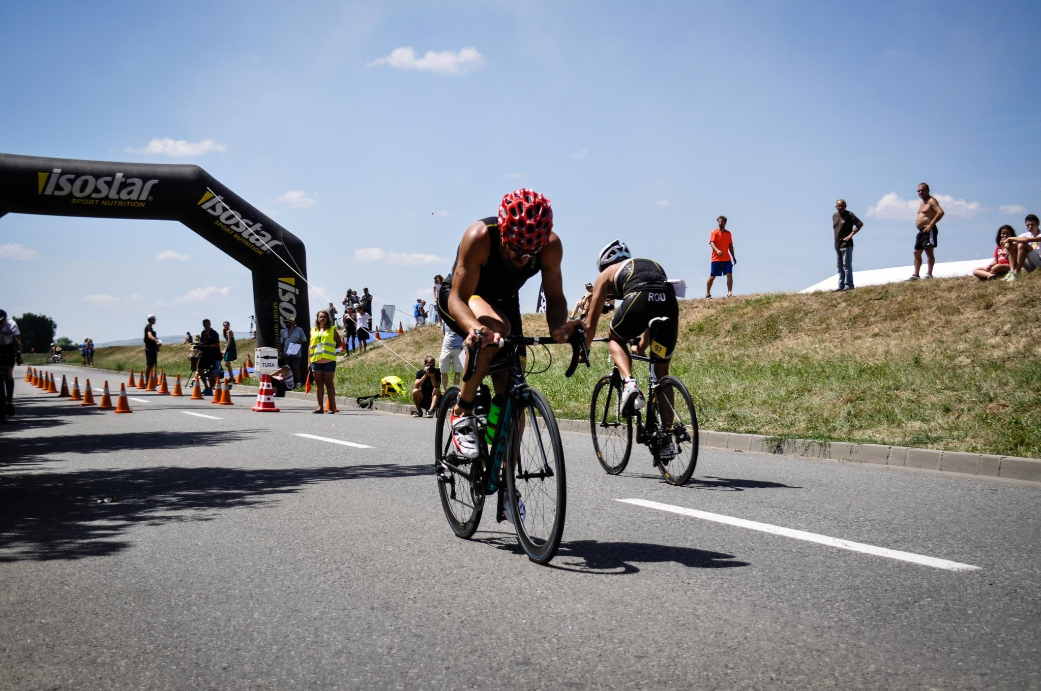 Campionatul National de Triatlon 2015 - Ciprian Balanescu bicicleta