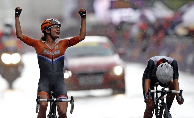Ciclism profesionist feminin