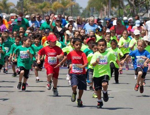 Concurs copii - competitie alergare