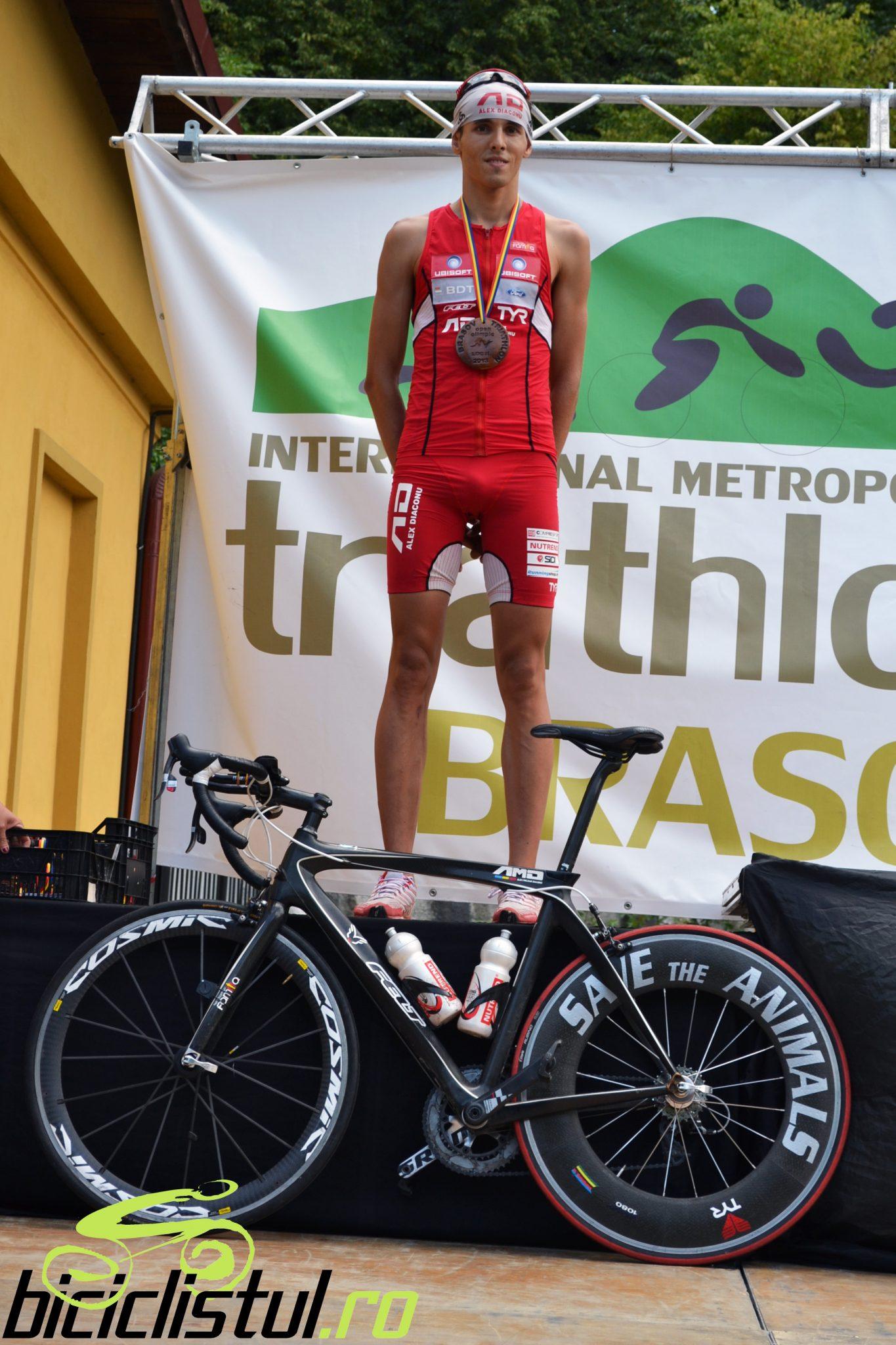 Alexandru Diaconu - locul 2 Brasov Triathlon