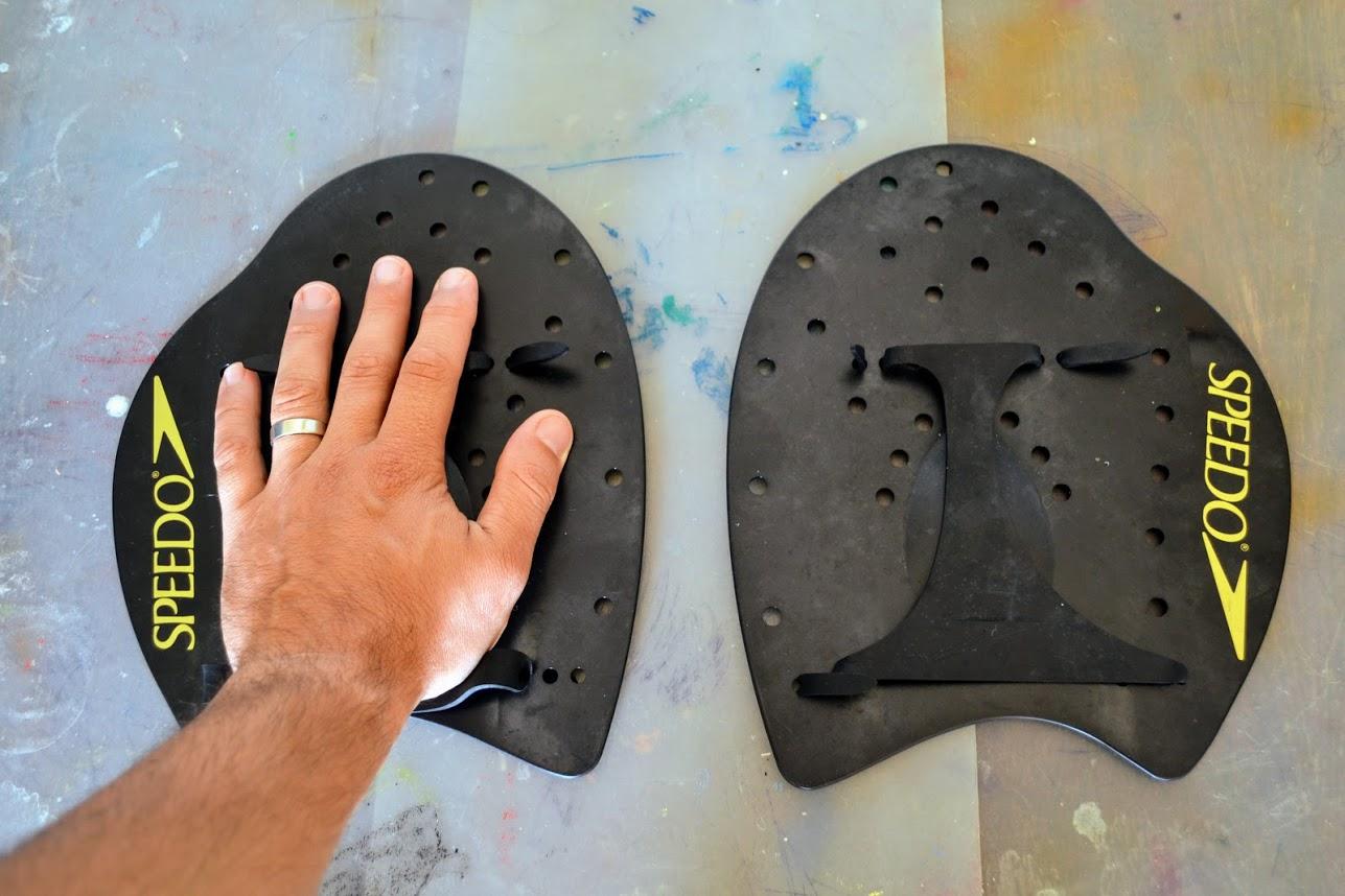 Palmare pentru înot Speedo - power paddles - mărime XL