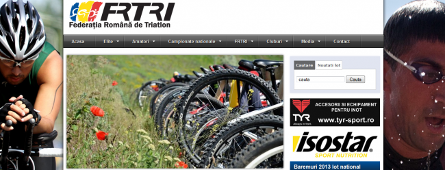 Federatia Romana de Triatlon website