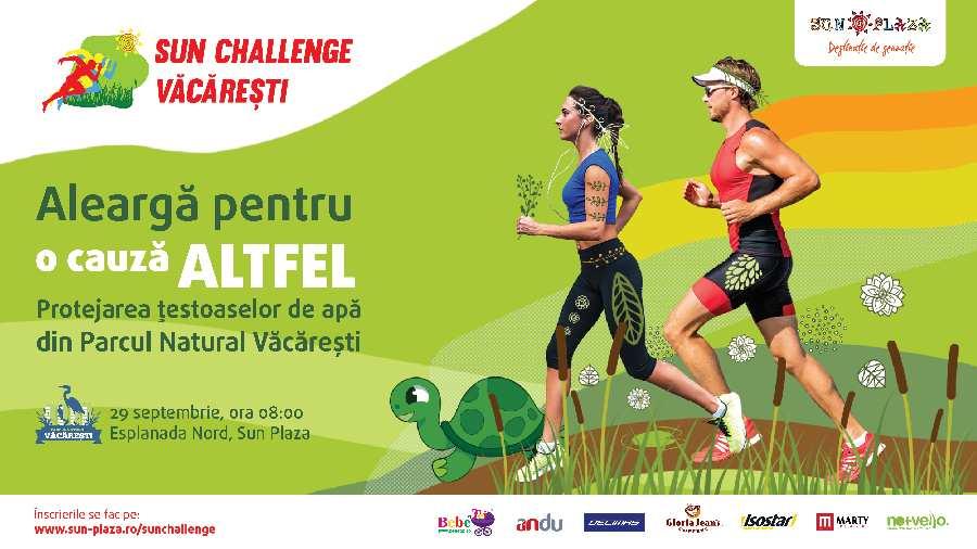 Sun Challenge 2018 - concurs alergare parcul Vacaresti