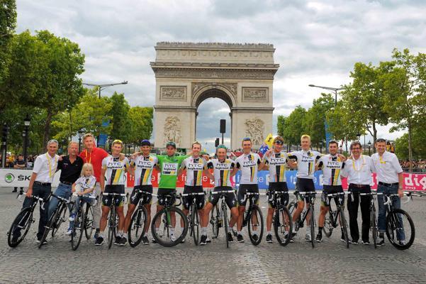 HTC echipa de ciclism Turul Frantei 2011