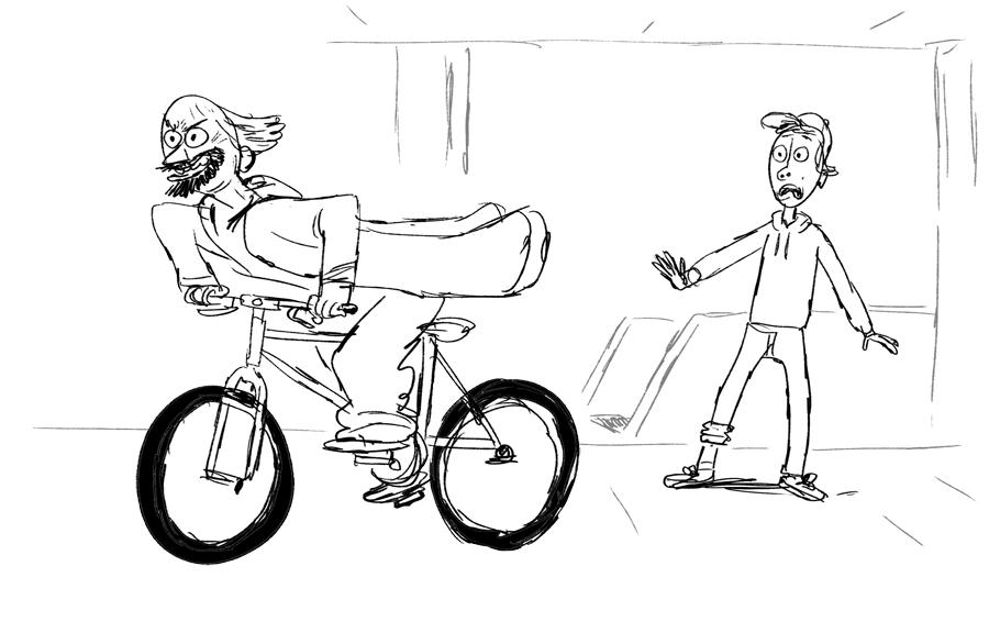 Hot de biciclete