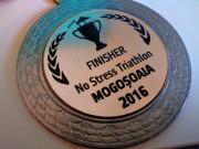 Medalie No Stress Triathlon Mogosoaia 2016