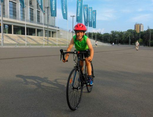 Ciclism la Arena Nationala cu Vladut