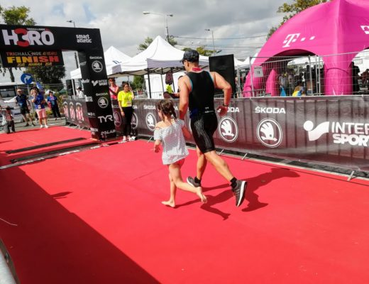 H3RO TriChallenge 2018 - Emilian Nedelcu finish