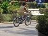 Copil biciclist obez 2