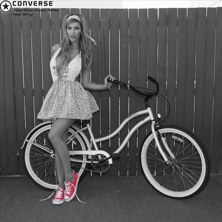 O biciclista pe zi - reclama Converse