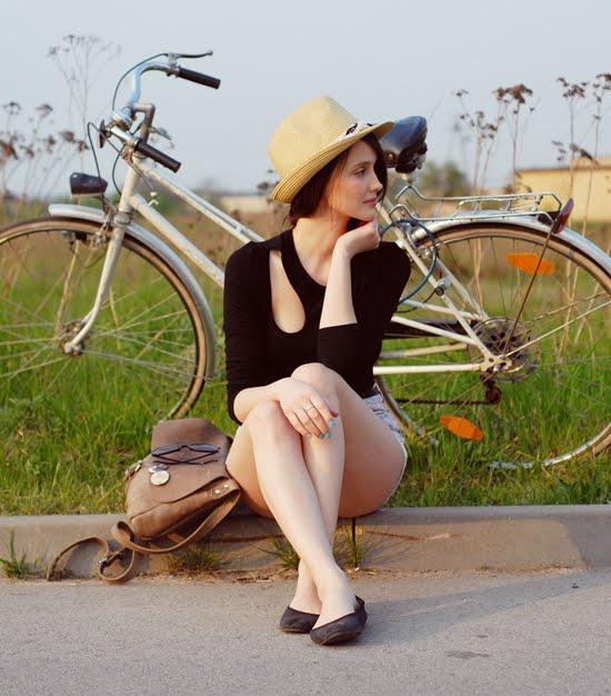 O biciclista pe zi - biciclista de Martisor (2012)
