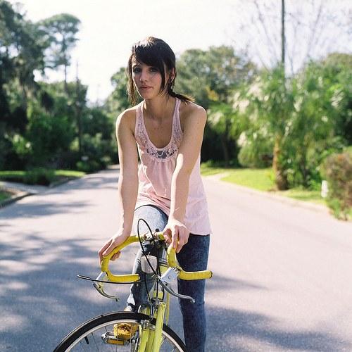 O biciclista pe zi - intr-o zi de vara