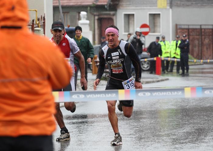 Ciprian Balanescu, castigand Maratonul Piatra Craiului