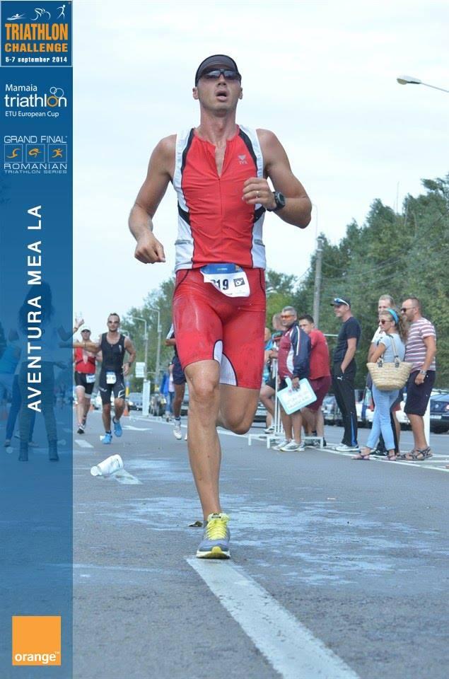 Răzvan Florea la Triathlon Challenge Mamaia