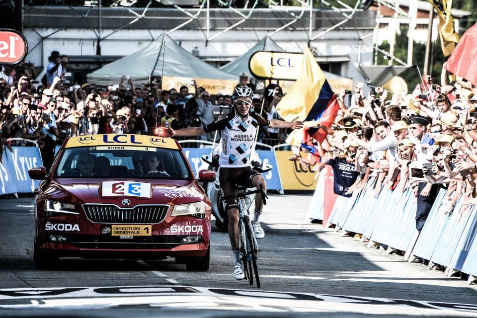 Romain Bardet a câştigat etapa a 18-a din Turul Franţei 2015