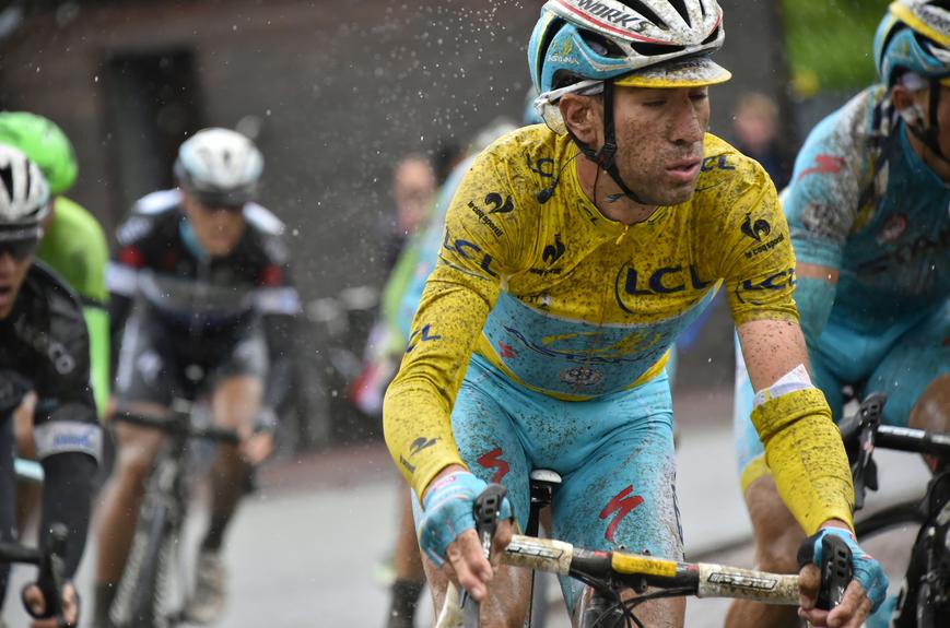 Vincenzo Nibali, liderul la zi din Turul Franţei