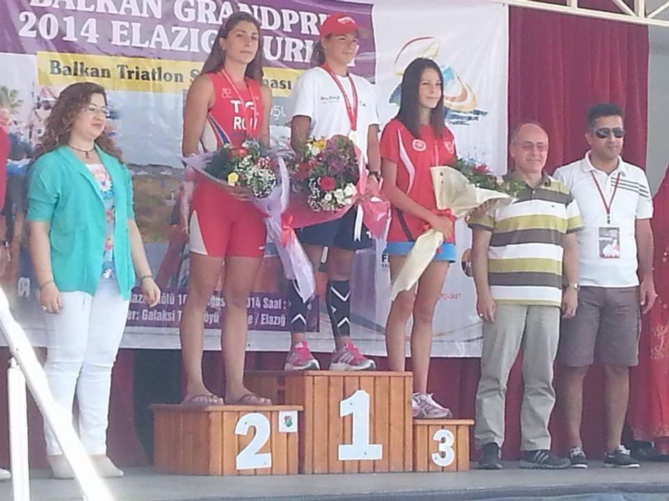 Podium campionat balcanic Turcia 2014