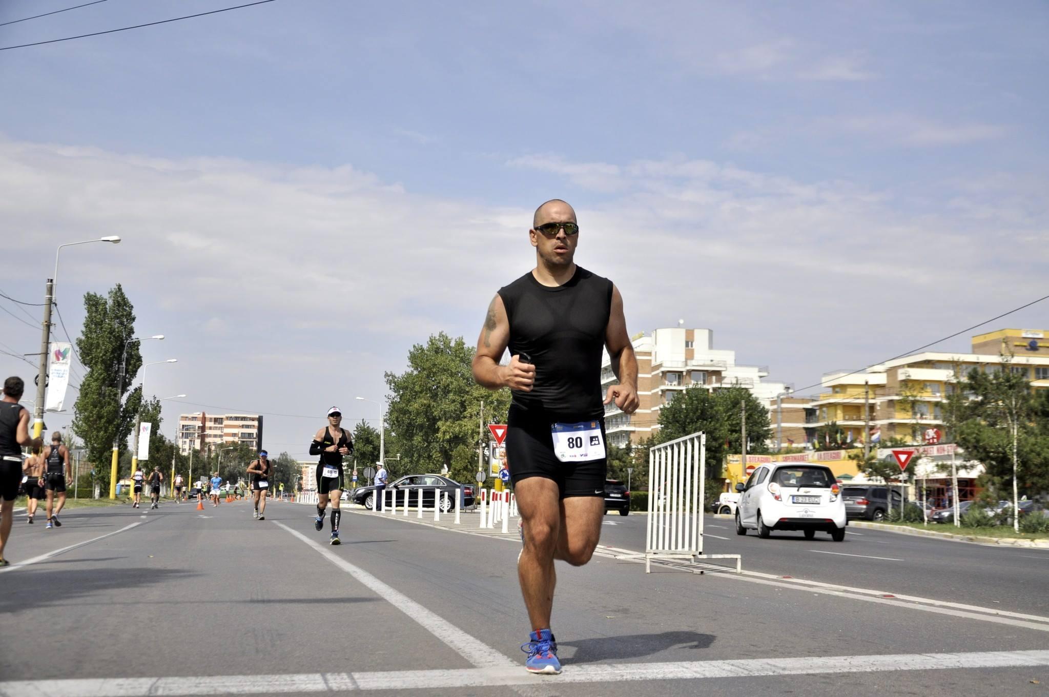 Triathlon Challenge Mamaia - proba de alergare
